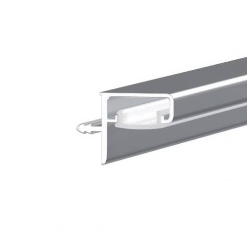 Gola Профиль Led Г-образный под пропил с рассеивателем, для 16мм ДСП, L=4100мм, отделка алюминий (анодировка)